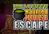 play 123Bee Halloween Haunted House Escape