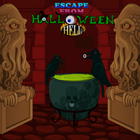 play Escape From Halloween Hell