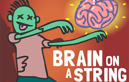 Brain On A String game