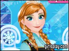 Anna`S Frosty Makeup game