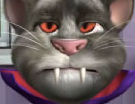 Talking Tom Halloween Fun game