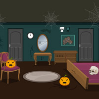 play Scary Halloween House Escape 6