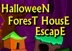 play Halloween Forest House Escape