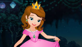 play Ballgown Dress Up Sofia The First