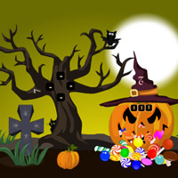 play Halloween Trick Or Treat Escape-3