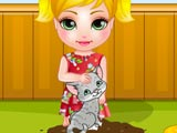 Baby Madison Cat Care game