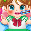 Cute Baby Cold Doctor game
