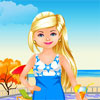 Swimming Pool Dress Up game