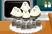 Halloween Ghost Cupcakes game