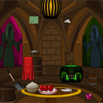 play Halloween Bat House Escape