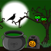 play Halloween Trick Or Treat Escape-4