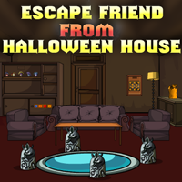play Escape Friend From Halloween House
