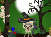 Halloween Trick Or Treat Escape-4 game