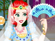 Merida Wedding Dress Up game