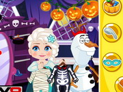 Elsa Halloween Slacking game