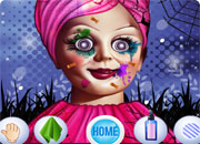 Annabelle Spooky Halloween Makeover game