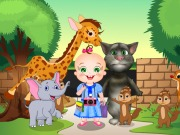 Baby Rosy Zoo Adventure game