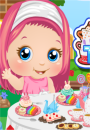 Baby Alice Tea Party game