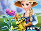 Elsa Ice Flower game