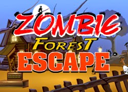 Zombie Forest Escape game