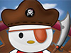 play Pirate Hello Kitty Fix & Dressup