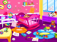 play Baby Room Clean Up