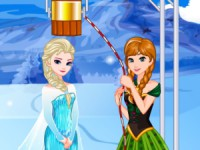 Elsa'S Ice Bucket Challenge game