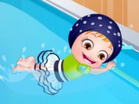 Baby Hazel Swimming Time game