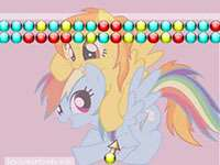 play Rainbow Dash And Spitfire Bubble