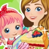 Baby Alice: Mommy And Me Cooking Pie game