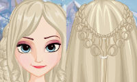 Frozen Elsa: Feather Chain Braids game