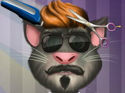 Talking Tom Hair Salon game