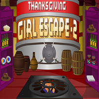 play Thanksgiving Girl Escape 2