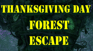 play Thanksgiving Day Forest Escape