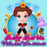 Baby Barbie Villains Costumes game