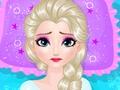 play Frozen Elsa Belly Pain
