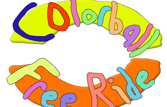 Colorball Freeride game
