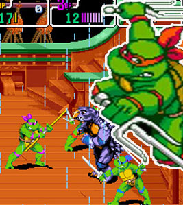 Tmnt: Turtles In Time game