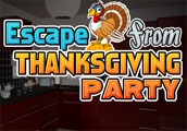 Escape From Thanksgiving Party game
