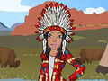Native American Dress Up game