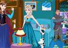 Frozen Christmas Ro game