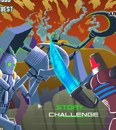 Epic Robo Quest game