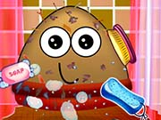 play Messy Pou