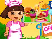 play Dora Fun Cafe