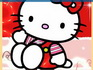 play Red Hello Kitty Sliding