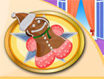 play Gingerbread Decoration