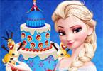 play Queen Elsa Cake Decor