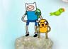 Adventure Time Warterfall Jump game