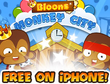 Bloons Monkey City Mobile game