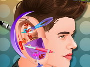 play Justin Bieber Ear Infection